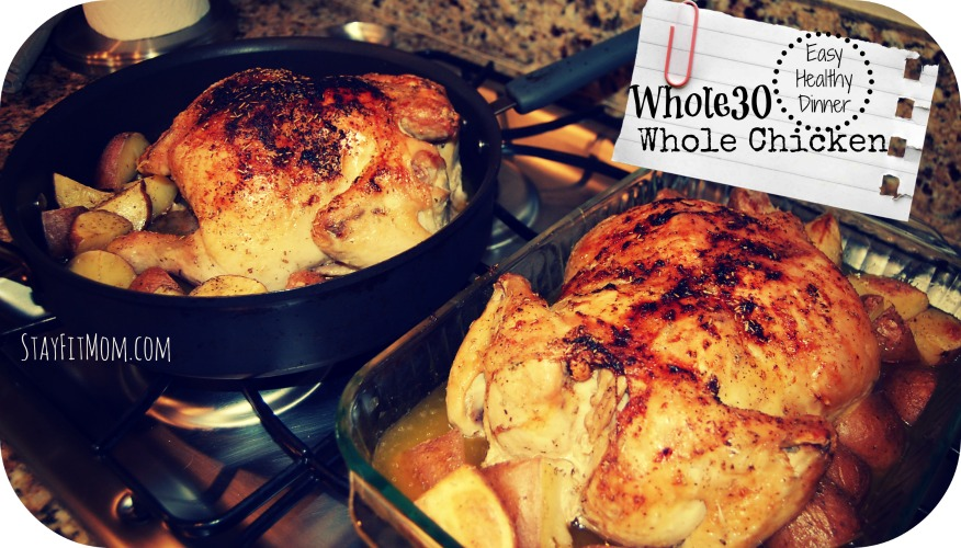 I made a whole chicken about once a week during whole30. Lots of leftovers and VERY affordable!