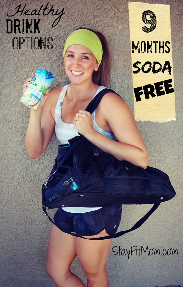 Love these soda free drink options at Stay Fit Mom!