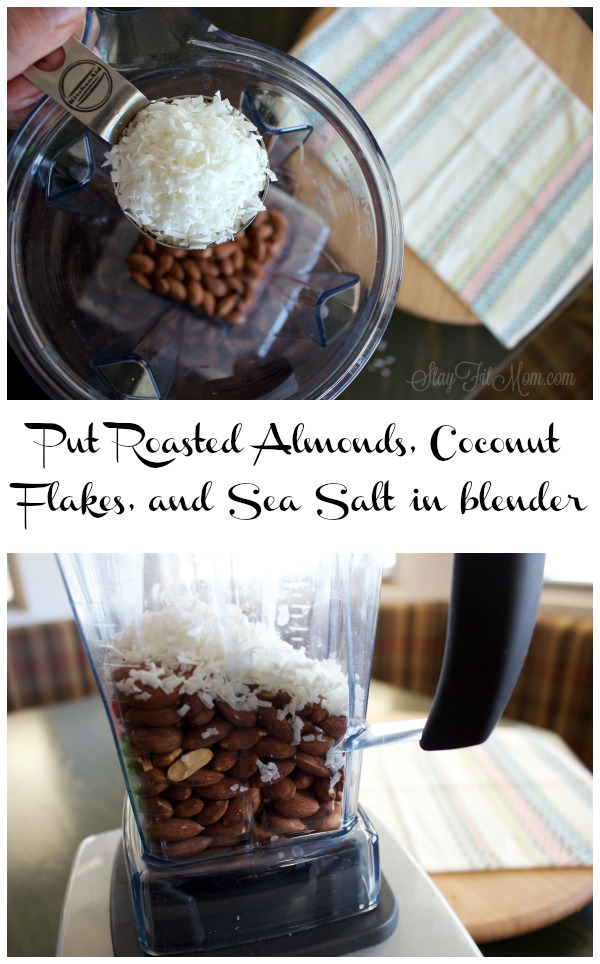Homemade Coconut Almond Butter