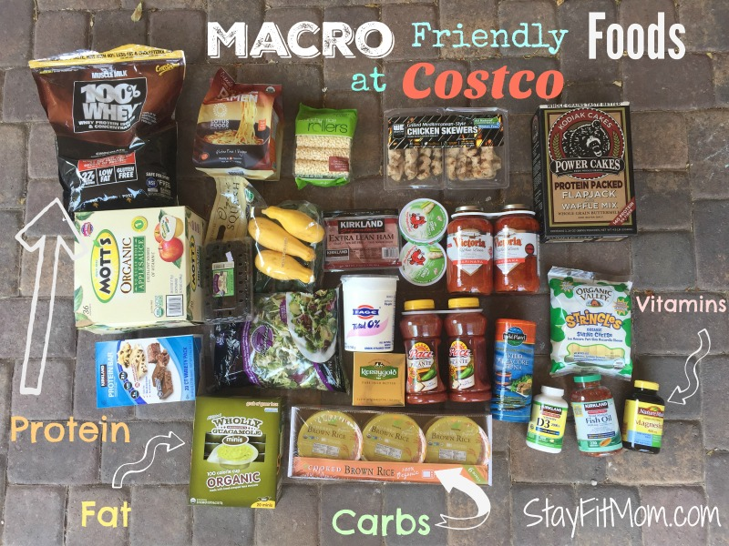 All the most macro friendly foods Costco has to offer!