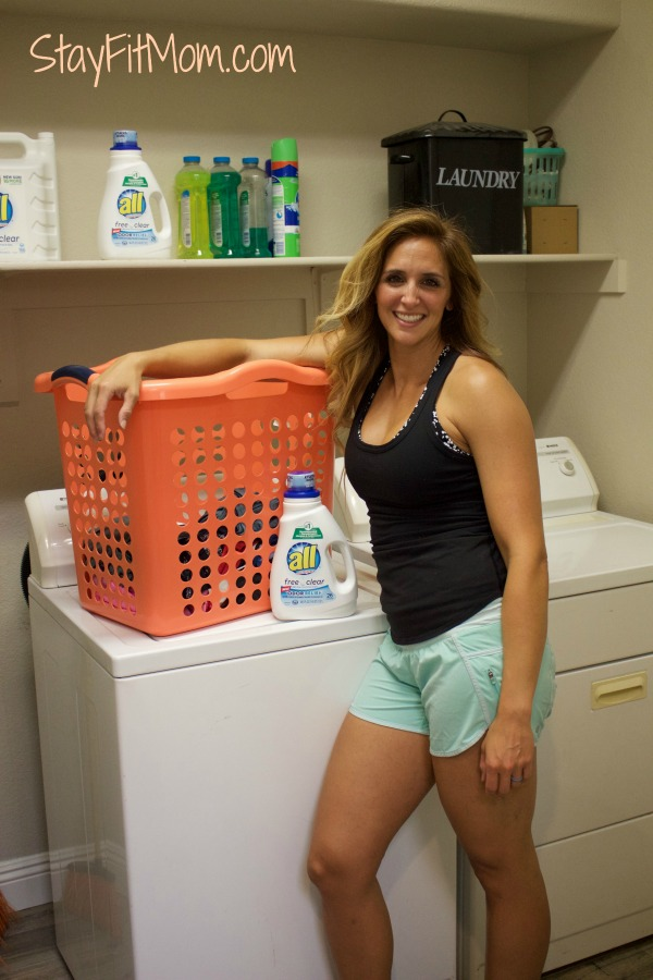 Laundry time = mobility time!