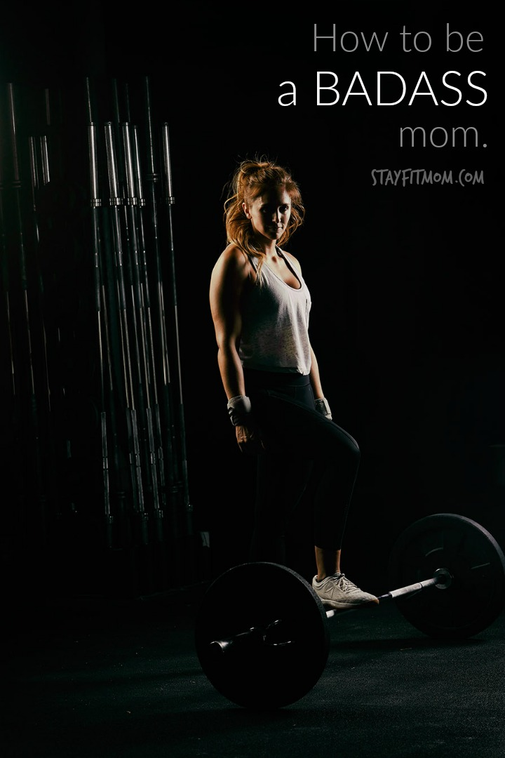 What makes you a Badass isn't what you see on social media. #stayfitmom #badass #mom #crossfit