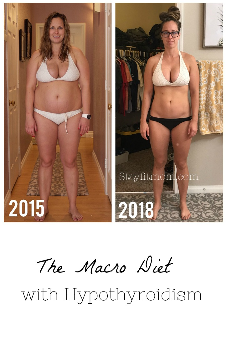 Losing weight on the Macro Diet with hypothyroidism #stayfitmom #hypothyroid #iifym #macrodiet
