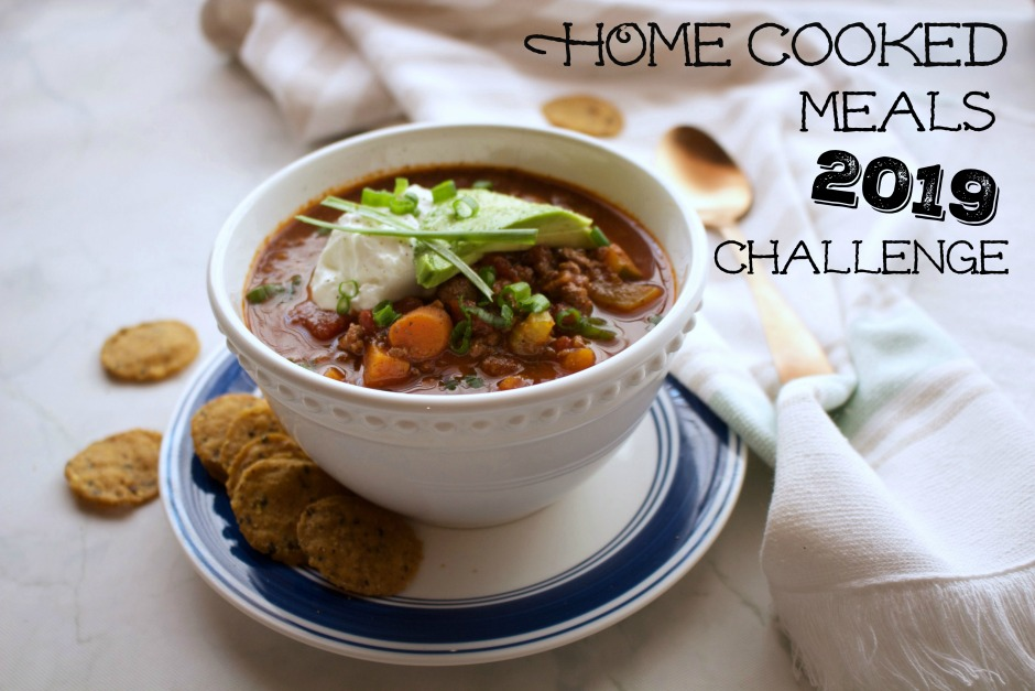 Join Stay Fit Mom on the January home cooked meal challenge!