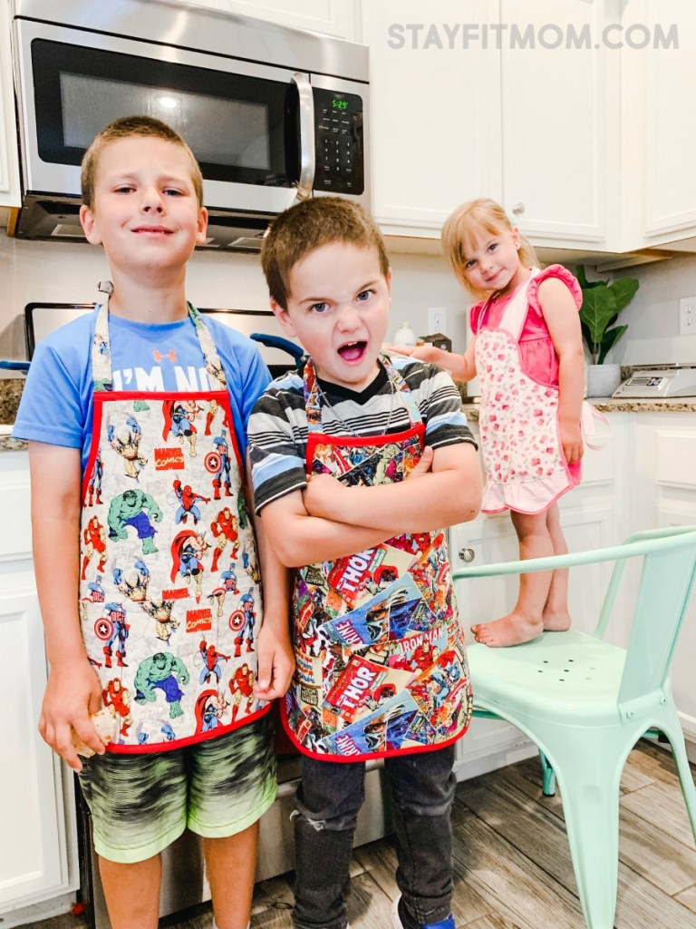 Kids love to cook and it can help save their life! #stayfitmom #kidscooking #kidscook