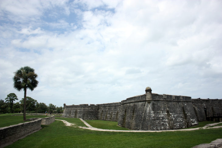 Stay gold Autumn | Saint Augustine, Florida historic fort