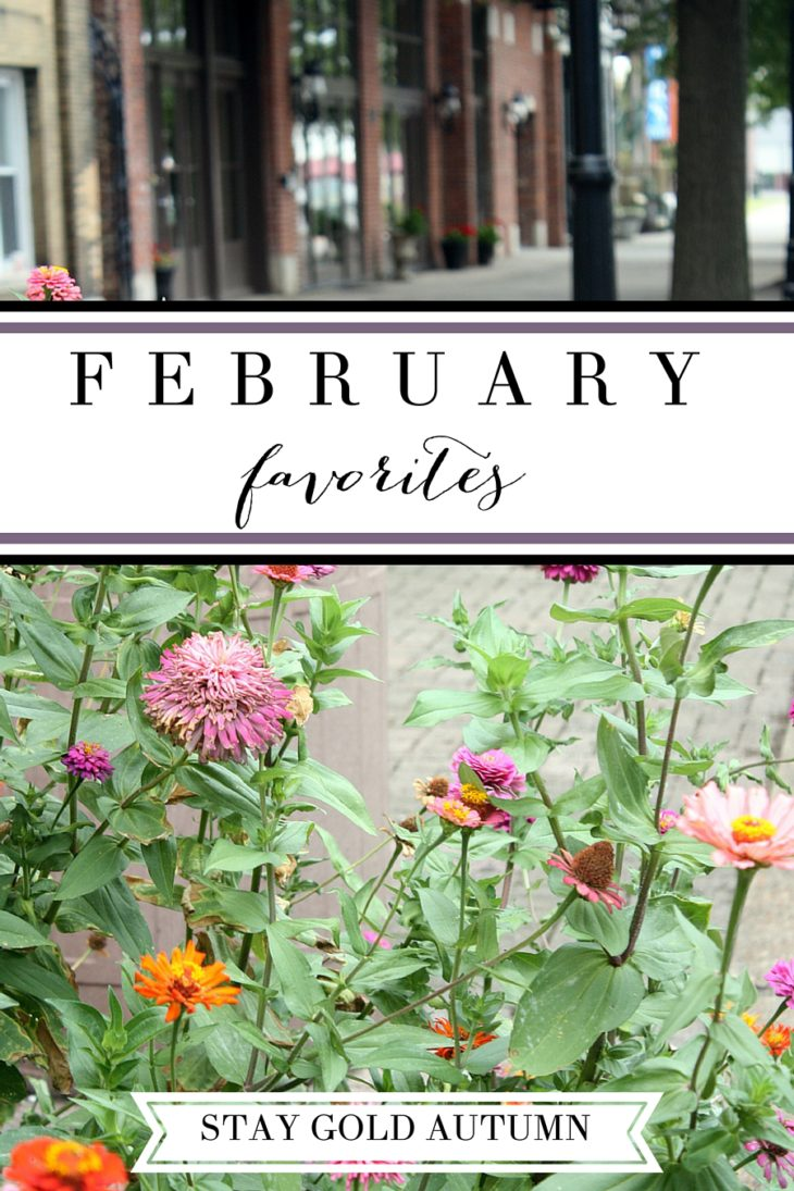 February favorites// a round up of some of my favorite things throughout the month! | Stay gold Autumn