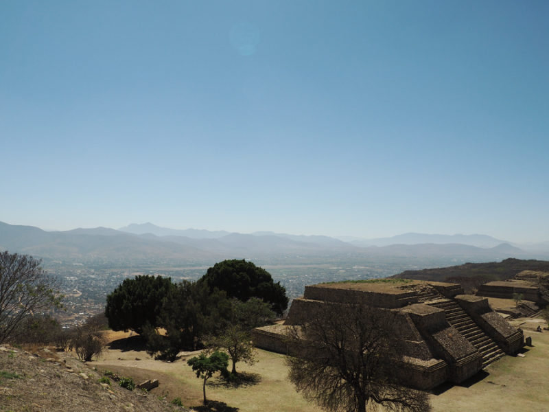 Monte Albán archaeological site: The stairs were created to be very steep in order for people to crawl in submission to their God's. Even for short people now, there is still a little bit of that! | Stay gold Autumn