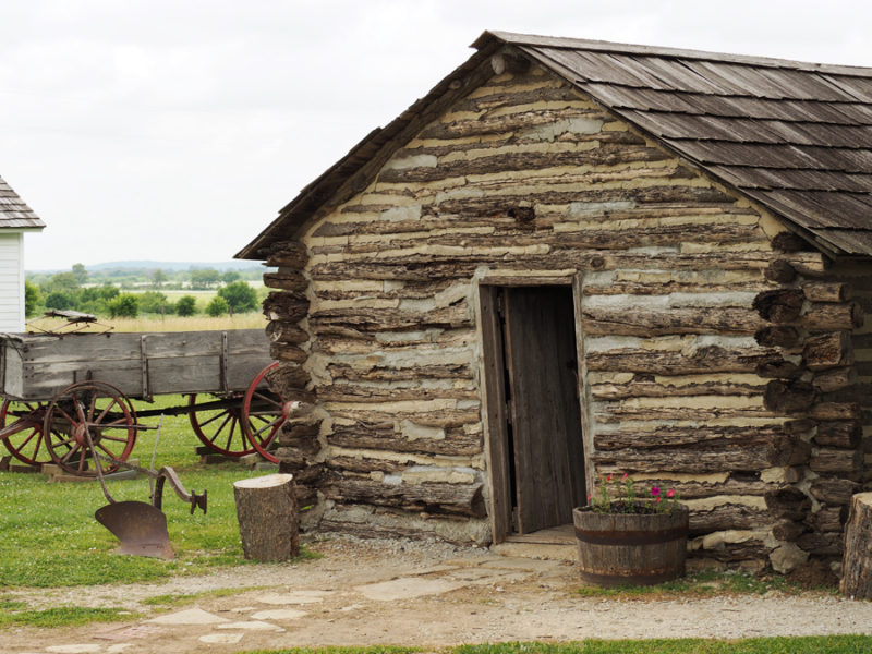 A visit to the Little House on the Prairie museum in Independence, Kansas is a must see for any book fan. An original homestead foundation was found on the property in the 1970s said to be owned by the Ingalls family. | Stay gold Autumn