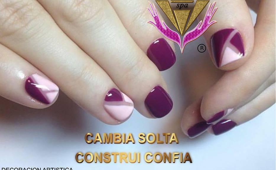 mix scarlet nails uñas esculpidas color escarlata