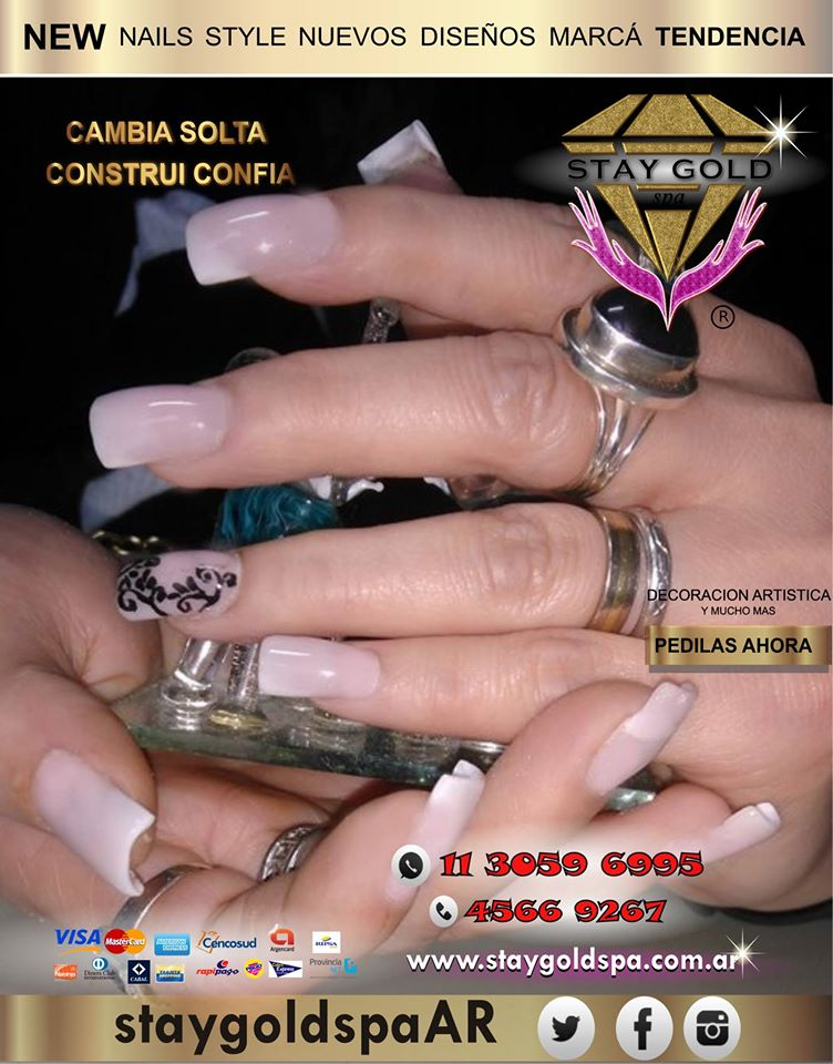 nail art uñas esculpidas decoradas