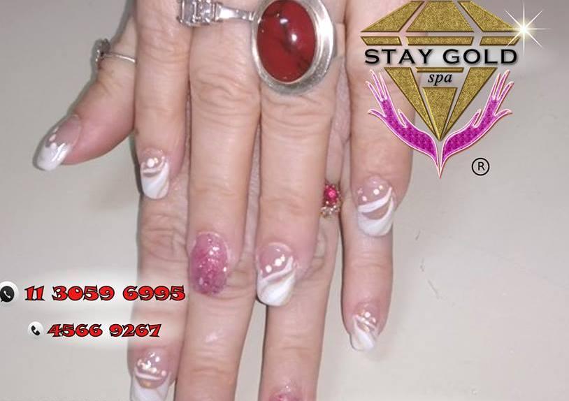 modelo de uñas passioned winter nails