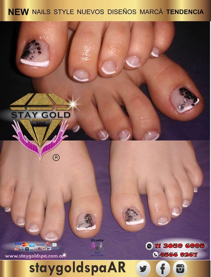 belleza de pies francesita