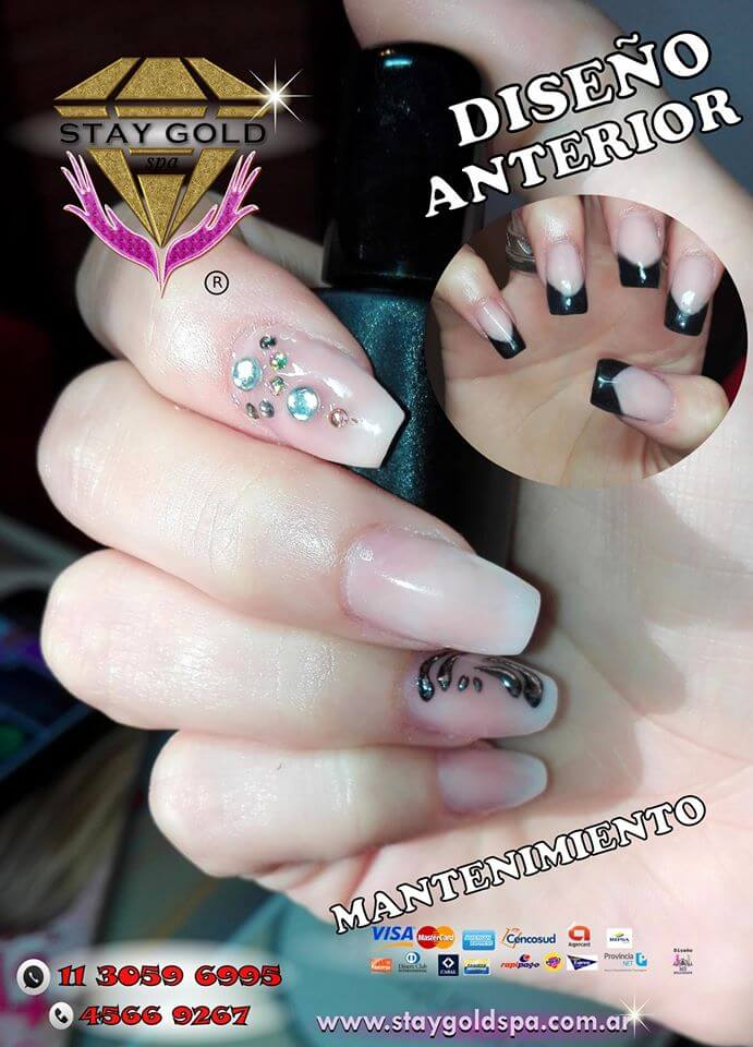 Mixed Coffin Nails Uñas Esculpidas en Devoto