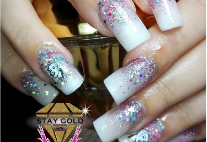 Uñas Decoradas Fiesta Marilyn ʖ Whatsapp 1135102682