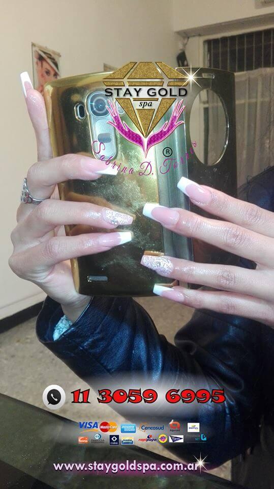 francesitas argentinas nails esculpidas