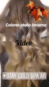 Video de Balayage Otoño e Invierno Buenos Aires, Argentina.