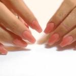 alargar uñas esculpidas