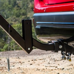 Tow Bar Bike Rack 4 Bicycle Carrier Mount Rack Tilted Back Hitch Extension