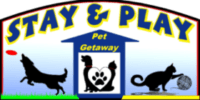Stay and Play Pet Getaway logo