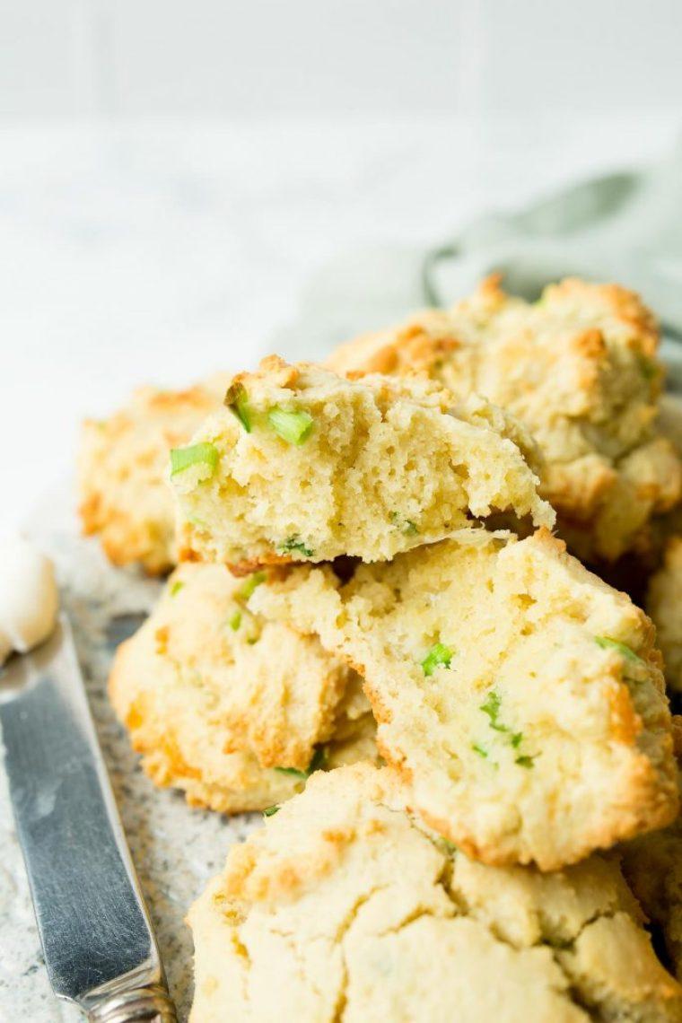 Keto Friendly Cheddar Biscuits