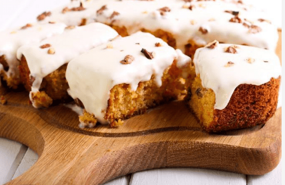 Low Carb Frosted Pumpkin Bars