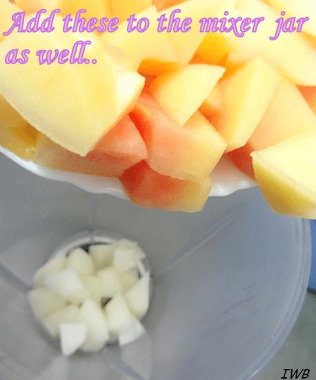 Papaya and Sun Melon Summer Fruit Drink Recipe8