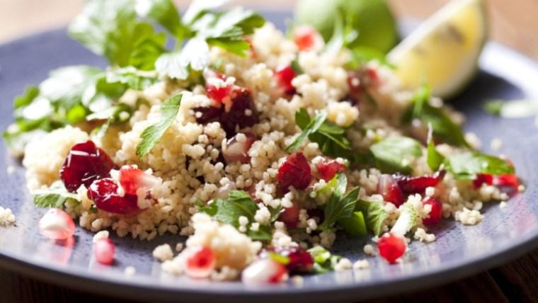 Keto Caribbean Couscous Salad