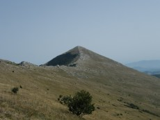 Sa grebena prema Šiljku