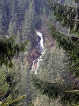 Jedan od visih bucnih slapova