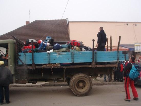 Prevoz velikih ranaca kamionom
