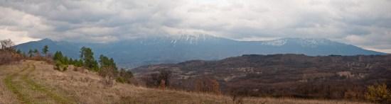 Pogled na Suvu planinu sa Ploča