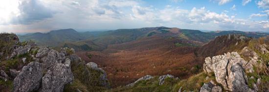 Panorama sa vrha Vranja