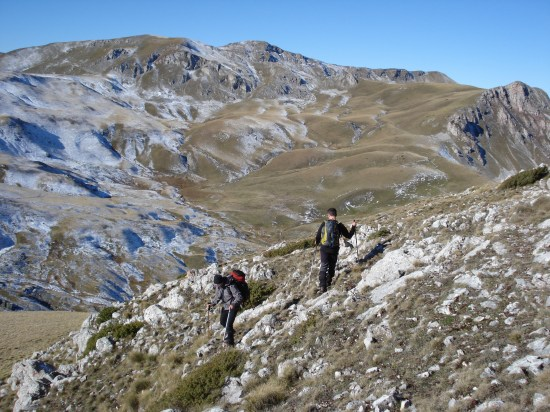 Pogled na vrh Stogovo (2218m)