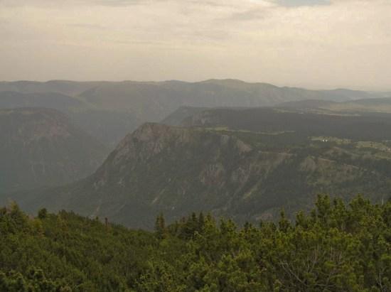 Pogled u kanjon Tare sa Štuoca