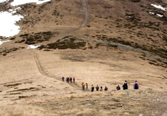 Ovakvom stazom do vrha
