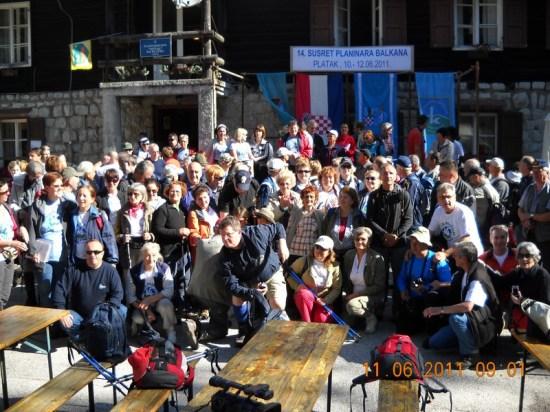 Otvaranje 14. susreta planinara Balkana