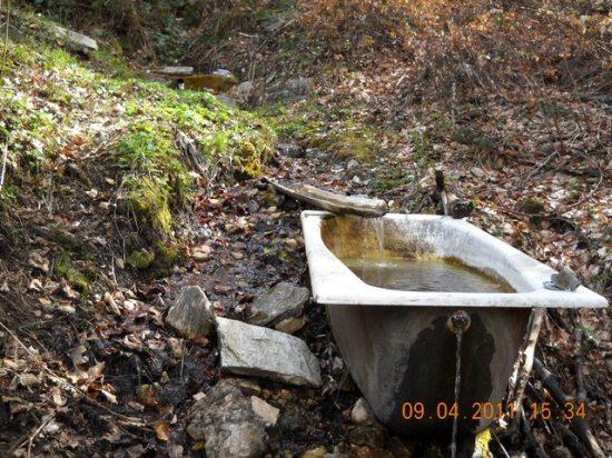 Pitka voda na stazi