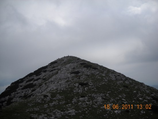 Vrh Troglav na vidiku