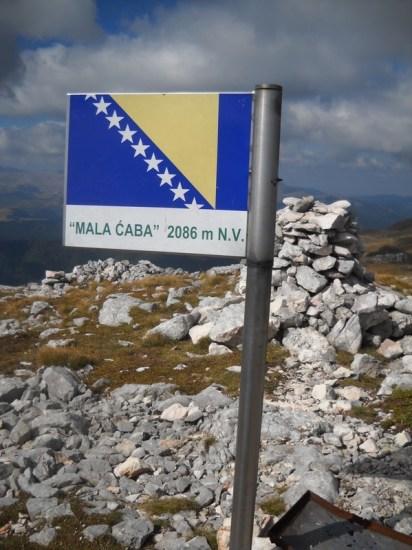 Obeležje najvišeg vrha Treskavice