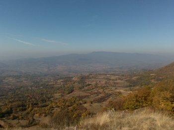 pogled ka selu Stol sa 950mnv