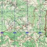 mapa: Vidojevica i Rgajska planina