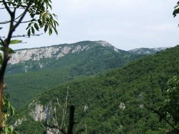Pogled na Mali Vukan sa Čoka Popi