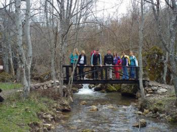 Izletište i mostić na Mrčkom potoku
