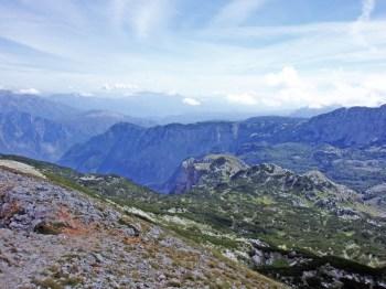 Pogled na Pestibrdo sa vrha Čvrsnice