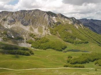Pogled sa vrha Stog na Kaleliju i Jugovo jezero