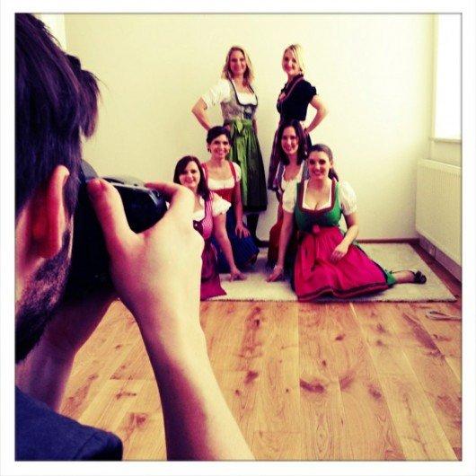 Steuerberatung Baaske München. Fotoshooting Team neue Webseite.