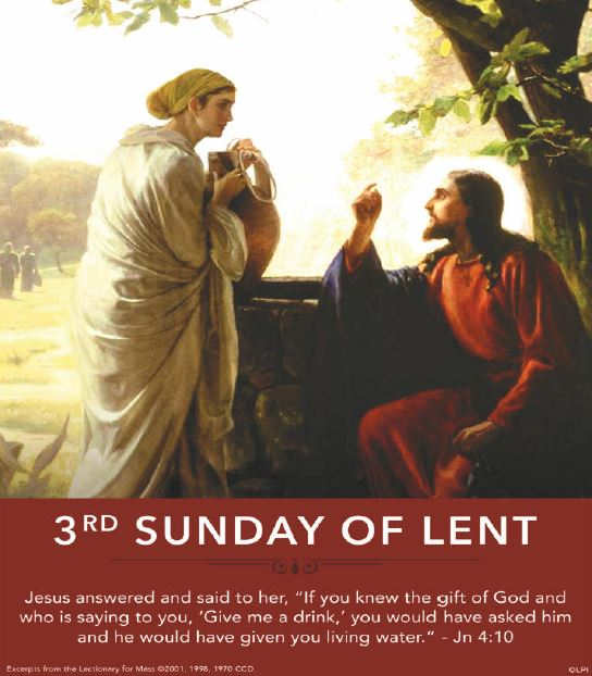 Image for the 3rd Sunday of Lent