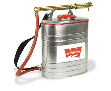 Galvanized Metal Fire Backpack Pump