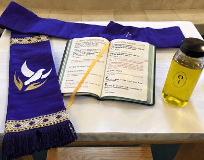 Holy orders sacrementals